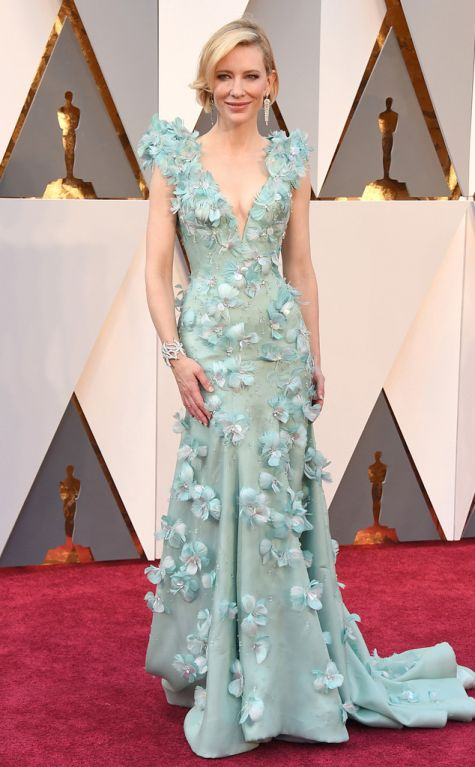 Cate Blanchett 2016 Oscars red carpet