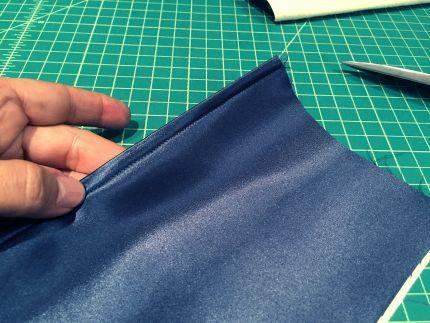 sew envelope clutch