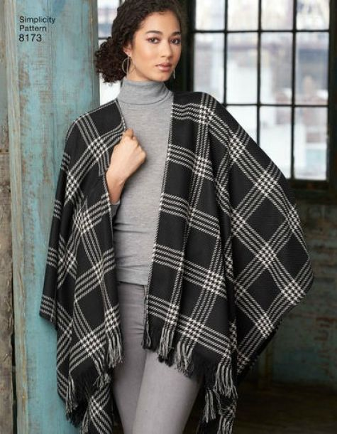 Pattern Roundup: Fall 2016 Ponchos, Wraps, and Capes - Threads