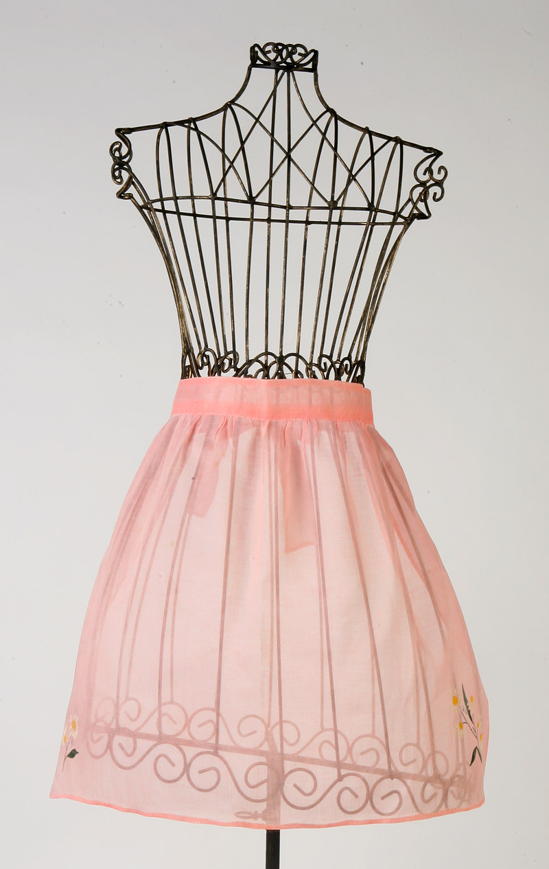 Pretty in pink apron