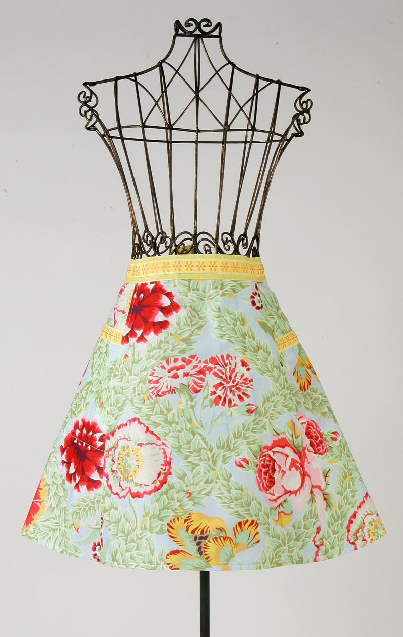 Yellow ribbon apron