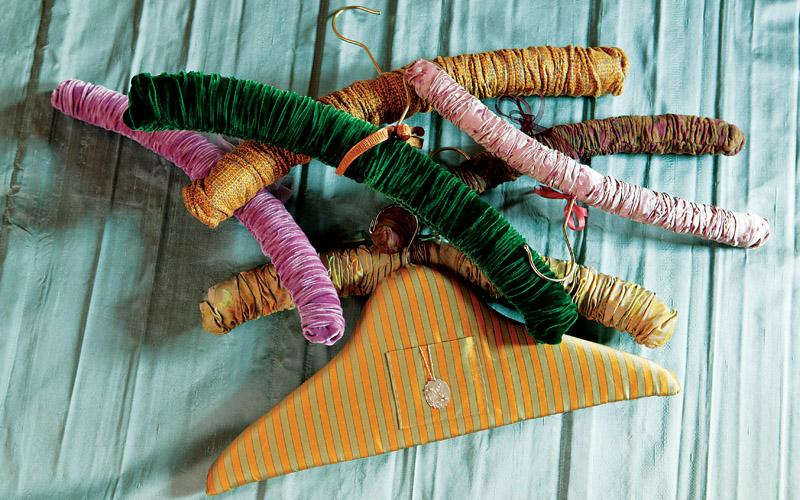 Custom padded hangers