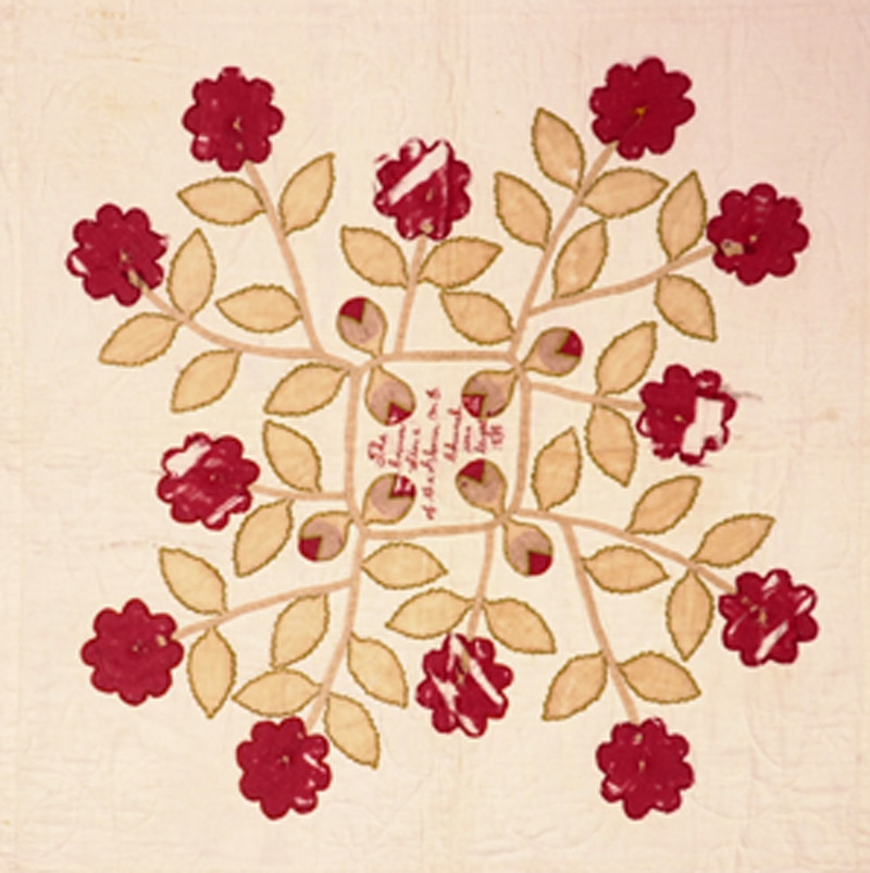 Unnamed rose pattern (detail)