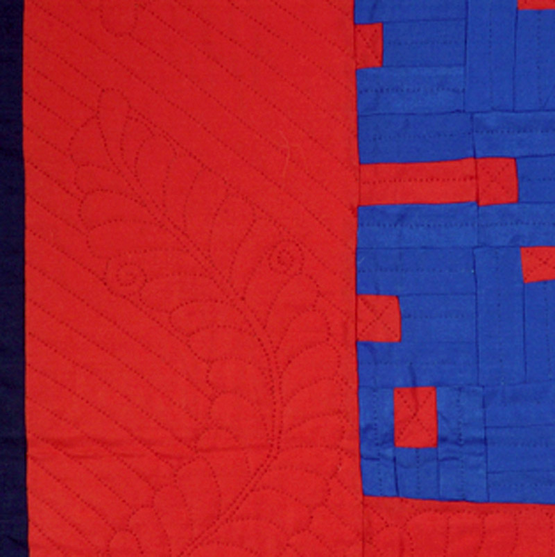 Red and Blue (detail)
