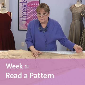 free sew-along week 1 read a pattern