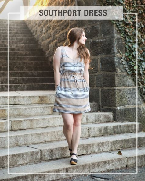 True Bias Patterns Southport Dress