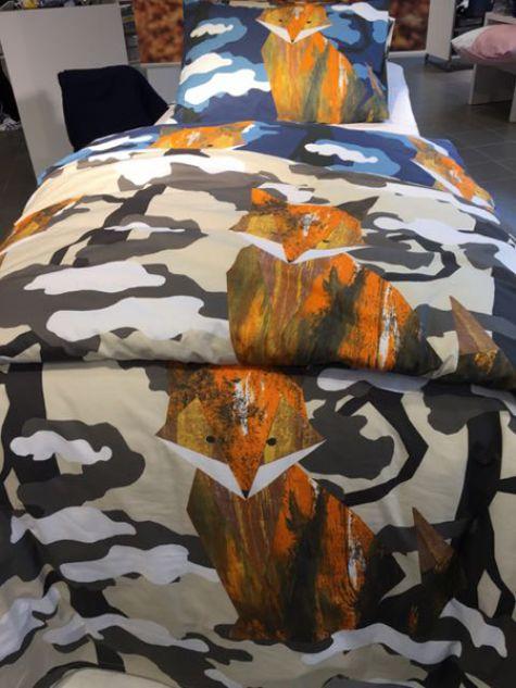 Fox bedcover
