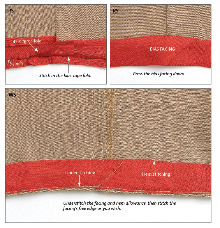 sewing saves: shorten tapered trousers