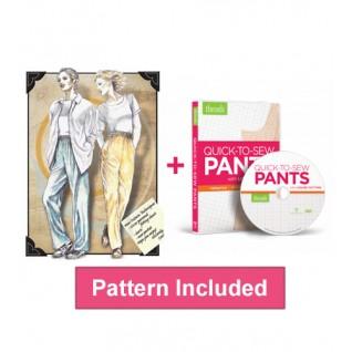 quick to sew pants one seam bundle